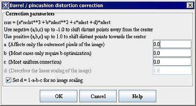 Barrel Distortion Correction - MIPAV
