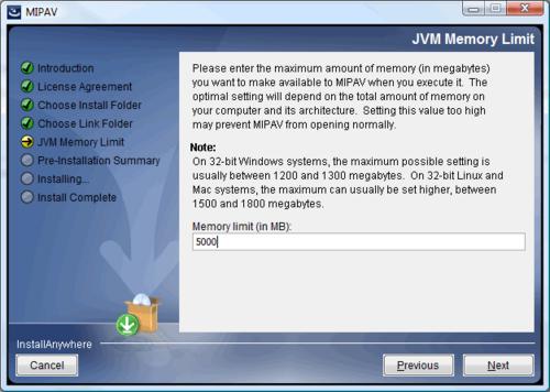 FAQ: Understanding Memory - MIPAV